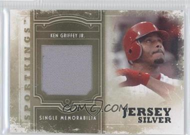 2012 Sportkings Series E - Single Memorabilia - Silver Jersey #SM-03 - Ken Griffey Jr.