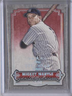 2012 Topps Five Star Club - [Base] #FSC-5 - Mickey Mantle /50