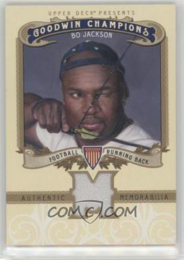 2012 Upper Deck Goodwin Champions - Authentic Memorabilia #M-BJ - Bo Jackson