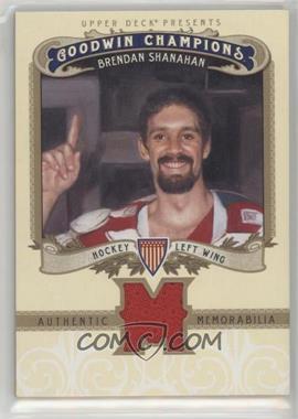 2012 Upper Deck Goodwin Champions - Authentic Memorabilia #M-BS - Brendan Shanahan