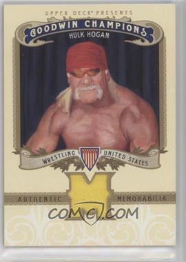 2012 Upper Deck Goodwin Champions - Authentic Memorabilia #M-HH - Hulk Hogan