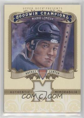2012 Upper Deck Goodwin Champions - Authentic Memorabilia #M-ML - Mario Lemieux