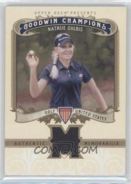 2012 Upper Deck Goodwin Champions - Authentic Memorabilia #M-NG - Natalie Gulbis