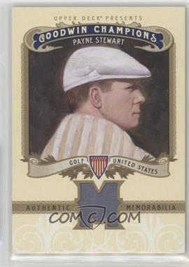 2012 Upper Deck Goodwin Champions - Authentic Memorabilia #M-PS - Payne Stewart