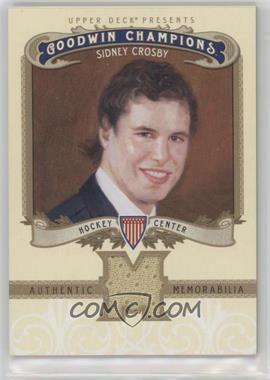 2012 Upper Deck Goodwin Champions - Authentic Memorabilia #M-SC - Sidney Crosby