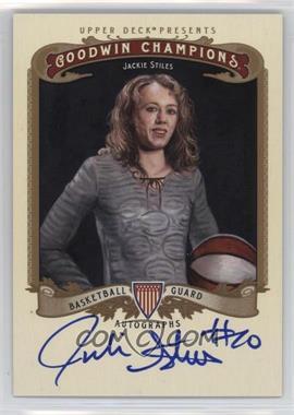 2012 Upper Deck Goodwin Champions - Autographs #A-JS - Jackie Stiles