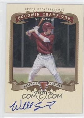 2012 Upper Deck Goodwin Champions - Autographs #A-WS - Will Swanner