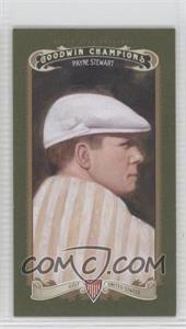 2012 Upper Deck Goodwin Champions - [Base] - Minis Green Blank Back #33 - Payne Stewart