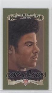 2012 Upper Deck Goodwin Champions - [Base] - Minis Green Lady Luck Back #149 - Warren Moon