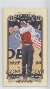 2012 Upper Deck Goodwin Champions - [Base] - Minis #100 - Tiger Woods