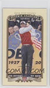 2012 Upper Deck Goodwin Champions - [Base] - Minis #100 - Tiger Woods