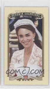 2012 Upper Deck Goodwin Champions - [Base] - Minis #20 - Kate Middleton