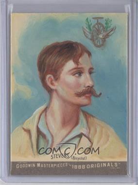 2012 Upper Deck Goodwin Champions - Goodwin Masterpieces 1888 Originals - [Autographed] #GMPS-11 - Thomas Stevens /10