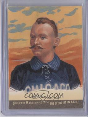 2012 Upper Deck Goodwin Champions - Goodwin Masterpieces 1888 Originals - [Autographed] #GMPS-2 - Cap Anson /10