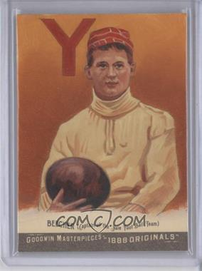 2012 Upper Deck Goodwin Champions - Goodwin Masterpieces 1888 Originals - [Autographed] #GMPS-22 - Harry Beecher /10