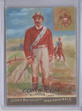 2012 Upper Deck Goodwin Champions - Goodwin Masterpieces 1888 Originals - [Autographed] #GMPS-25 - Jim McLaughlin /10