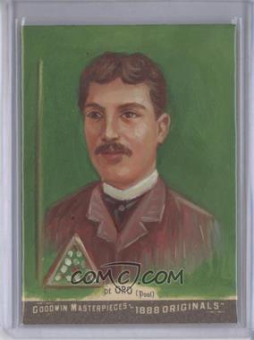 2012 Upper Deck Goodwin Champions - Goodwin Masterpieces 1888 Originals - [Autographed] #GMPS-39 - Alfredo de Oro /10