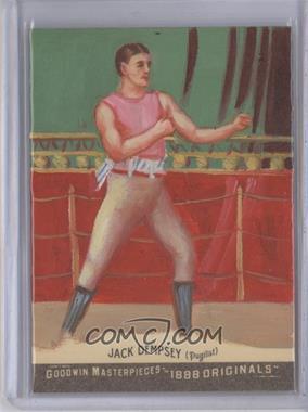 "2012 Upper Deck Goodwin Champions - Goodwin Masterpieces 1888 Originals - [Autographed] #GMPS-40 - ""Nonpareli"" Jack Dempsey /10"