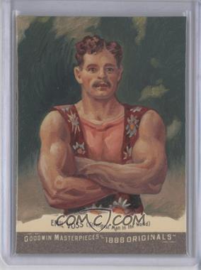 2012 Upper Deck Goodwin Champions - Goodwin Masterpieces 1888 Originals - [Autographed] #GMPS-46 - Emil Voss /10