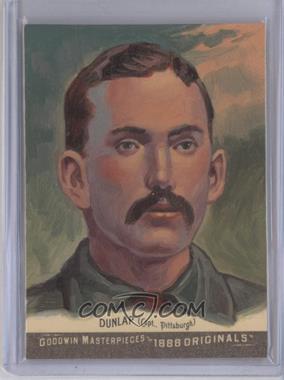 2012 Upper Deck Goodwin Champions - Goodwin Masterpieces 1888 Originals - [Autographed] #GMPS-5 - Fred Dunlap /10
