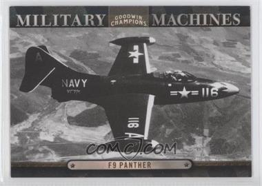 2012 Upper Deck Goodwin Champions - Military Machines #MM 21 - F9 Panther