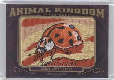 2012 Upper Deck Goodwin Champions - Multi-Year Issue Animal Kingdom Manufactured Patches #AK-126 - Asian Lady Beetle