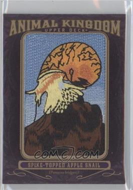 2012 Upper Deck Goodwin Champions - Multi-Year Issue Animal Kingdom Manufactured Patches #AK-138 - Spike-topped Apple Snail