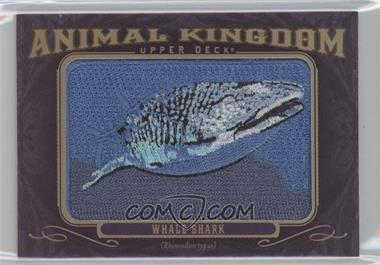 2012 Upper Deck Goodwin Champions - Multi-Year Issue Animal Kingdom Manufactured Patches #AK-170 - Whale Shark