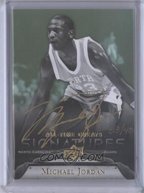 2012 Upper Deck UD All-Time Greats - Signatures #GA-MJ5 - Michael Jordan /40