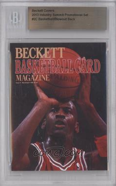 2013 Industry Summit Beckett Covers - Industry Summit [Base] #2C - Michael Jordan (Blowout Cards Back) /50 [BGS AUTHENTIC]