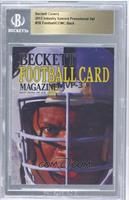 Bo Jackson (COMC Back) /25 [ENCASED]