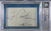 Jimmy Carter, Richard Nixon /1 [BGS Encased]