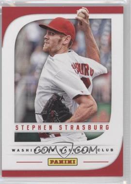 2013 Panini Father's Day - [Base] #1 - Stephen Strasburg