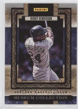 2013 Panini Father's Day - Museum Collection #MC-8 - Rickey Henderson