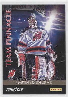 2013 Panini Father's Day - Team Pinnacle #11 - Martin Brodeur, Jonathan Quick