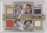 Gordie Howe, Bob Hayes, Brooks Robinson, Reggie Jackson /10