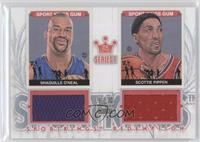 Shaquille O'Neal, Scottie Pippen /19