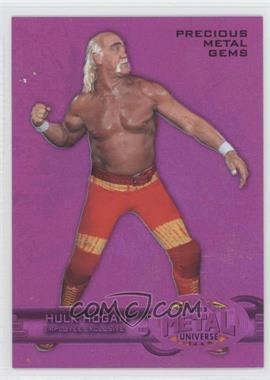 2013 Upper Deck Employee Exclusive Fleer Metal Precious Metal Gems - [Base] #E-HH - Hulk Hogan /125