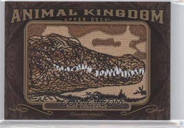 2013 Upper Deck Goodwin Champions - Animal Kingdom Manufactured Patches #AK-205 - Nile Crocodile