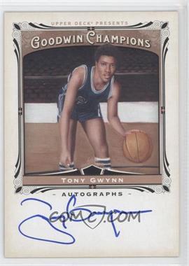 2013 Upper Deck Goodwin Champions - Autographs #A-TG - Tony Gwynn