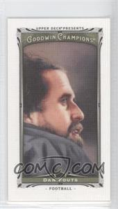 2013 Upper Deck Goodwin Champions - [Base] - Canvas Minis #52 - Dan Fouts