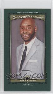 2013 Upper Deck Goodwin Champions - [Base] - Mini Green Lady Luck #114 - Jerry Rice