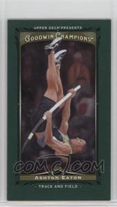2013 Upper Deck Goodwin Champions - [Base] - Mini Green Lady Luck #68 - Ashton Eaton
