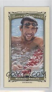 2013 Upper Deck Goodwin Champions - [Base] - Mini #92 - Michael Phelps