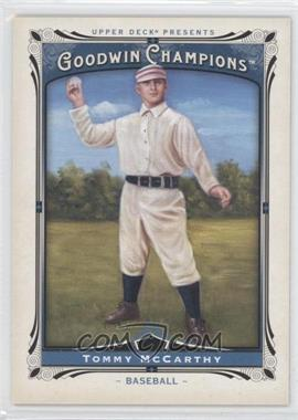 2013 Upper Deck Goodwin Champions - [Base] #161 - Tommy McCarthy