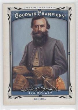 2013 Upper Deck Goodwin Champions - [Base] #163 - Jeb Stuart