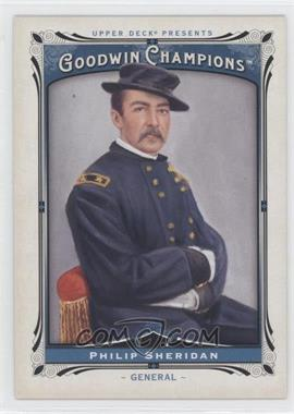 2013 Upper Deck Goodwin Champions - [Base] #164 - Philip Sheridan