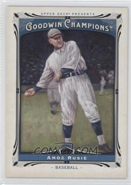 2013 Upper Deck Goodwin Champions - [Base] #179 - Amos Rusie