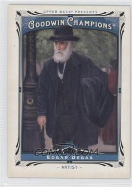 2013 Upper Deck Goodwin Champions - [Base] #181 - Edgar Degas