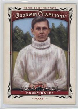 2013 Upper Deck Goodwin Champions - [Base] #196 - Hobey Baker